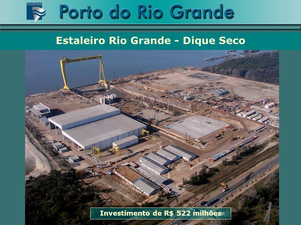 Estaleiro Rio Grande - Dique Seco Investimento de R$ 522 milhões