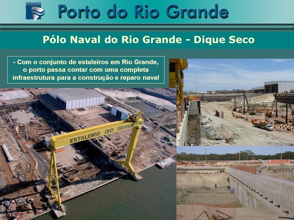 Pólo Naval do Rio Grande - Dique Seco