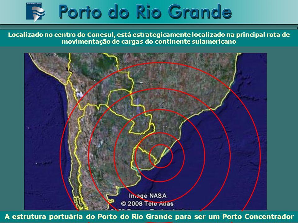 Localizado no centro do Conesul, está estrategicamente localizado na principal rota de movimentação de cargas do continente sulamericano