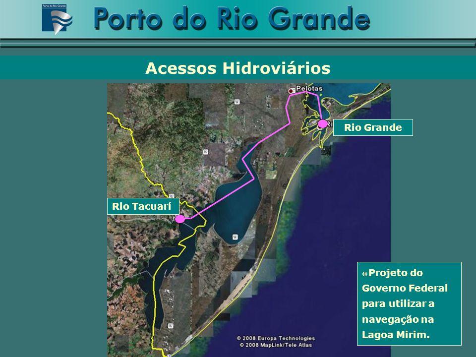 Acessos Hidroviários Rio Grande Rio Tacuarí