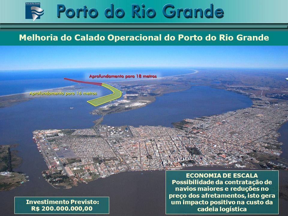 Melhoria do Calado Operacional do Porto do Rio Grande