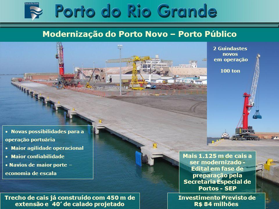 Modernização do Porto Novo – Porto Público