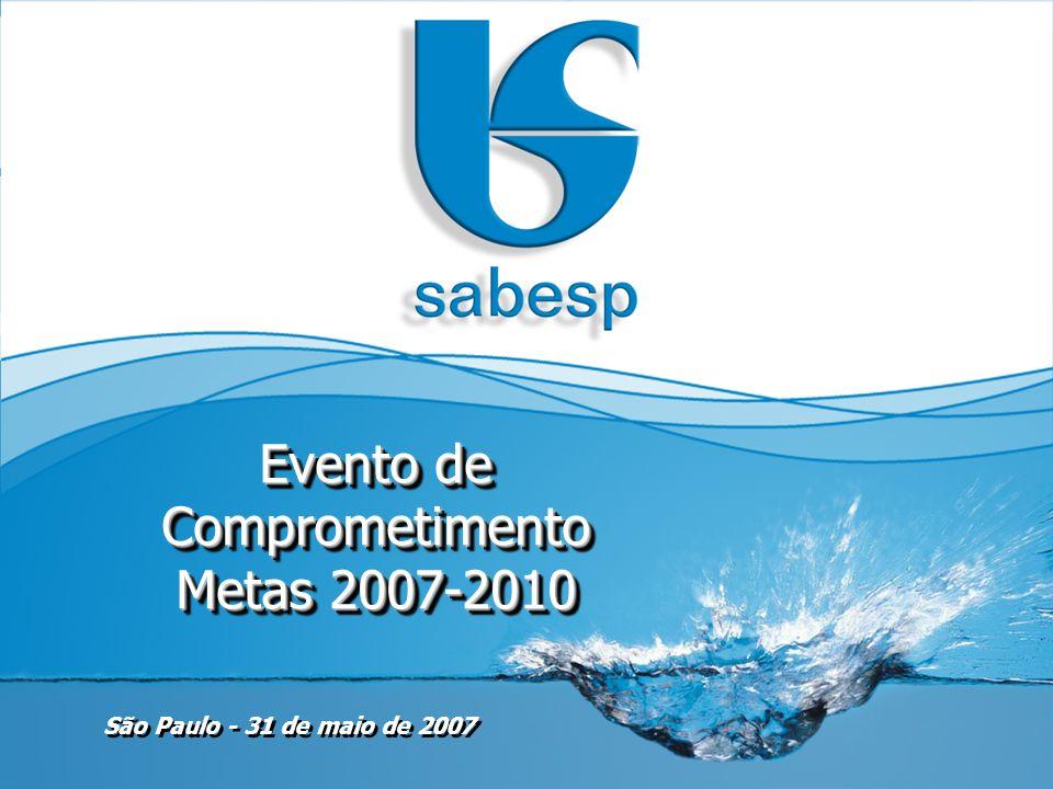 Evento de Comprometimento Metas 2007-2010