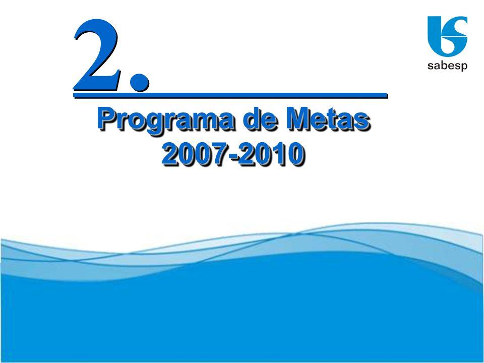 2. Programa de Metas 2007-2010