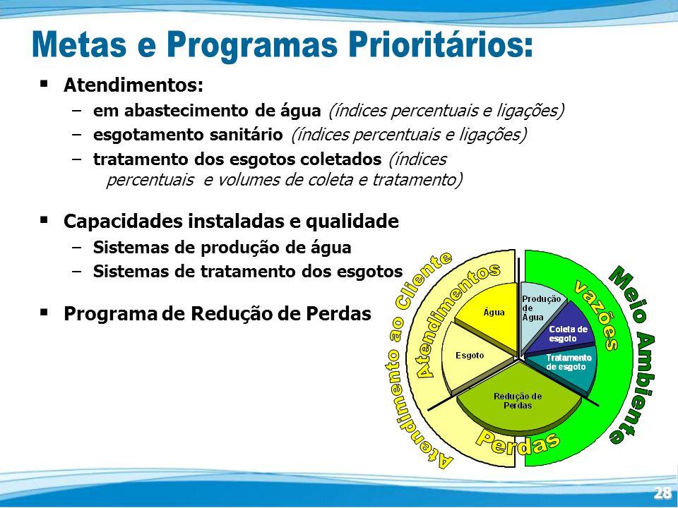 Metas e Programas Prioritários: