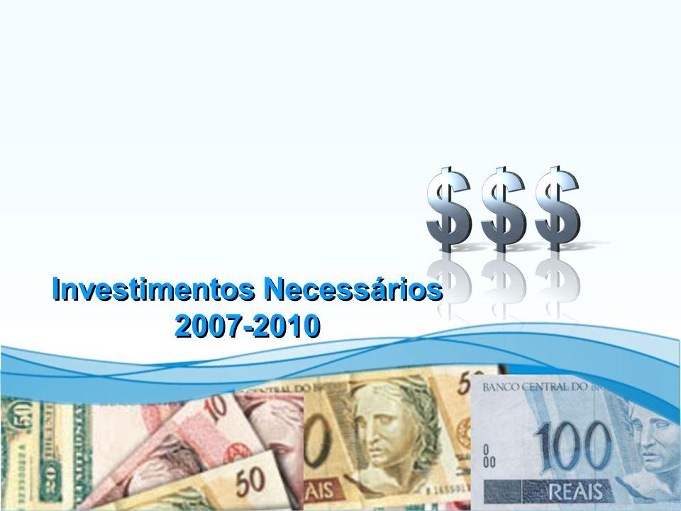 Investimentos Necessários 2007-2010