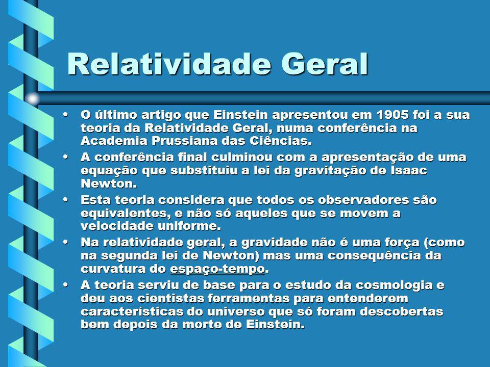 Relatividade Geral