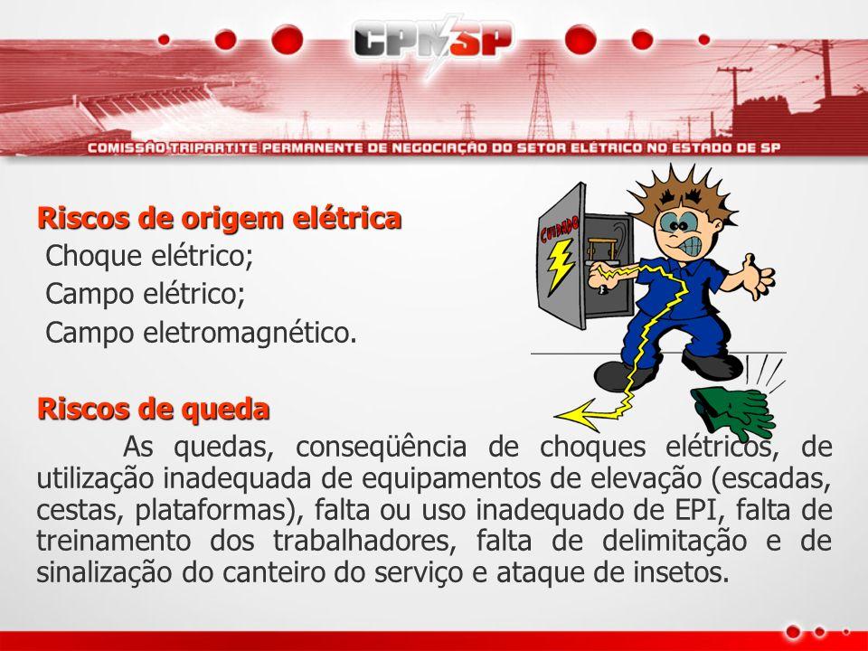 Riscos de origem elétrica