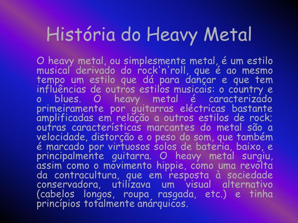 História do Heavy Metal