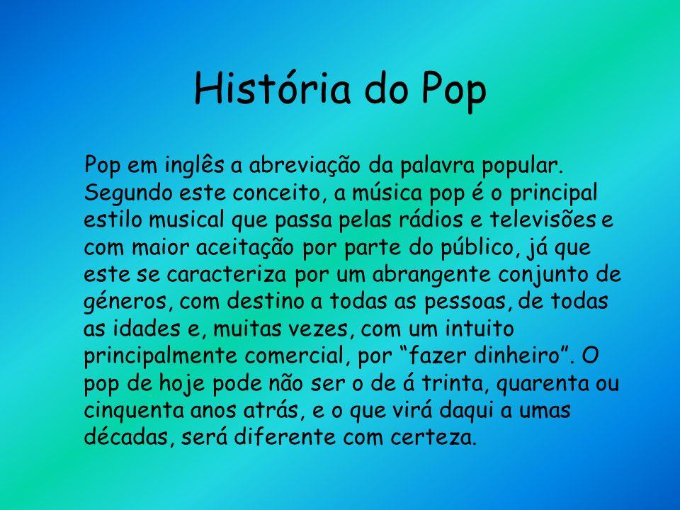 História do Pop