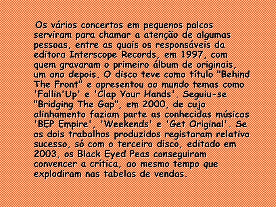 Os vários concertos em pequenos palcos serviram para chamar a atenção de algumas pessoas, entre as quais os responsáveis da editora Interscope Records, em 1997, com quem gravaram o primeiro álbum de originais, um ano depois.
