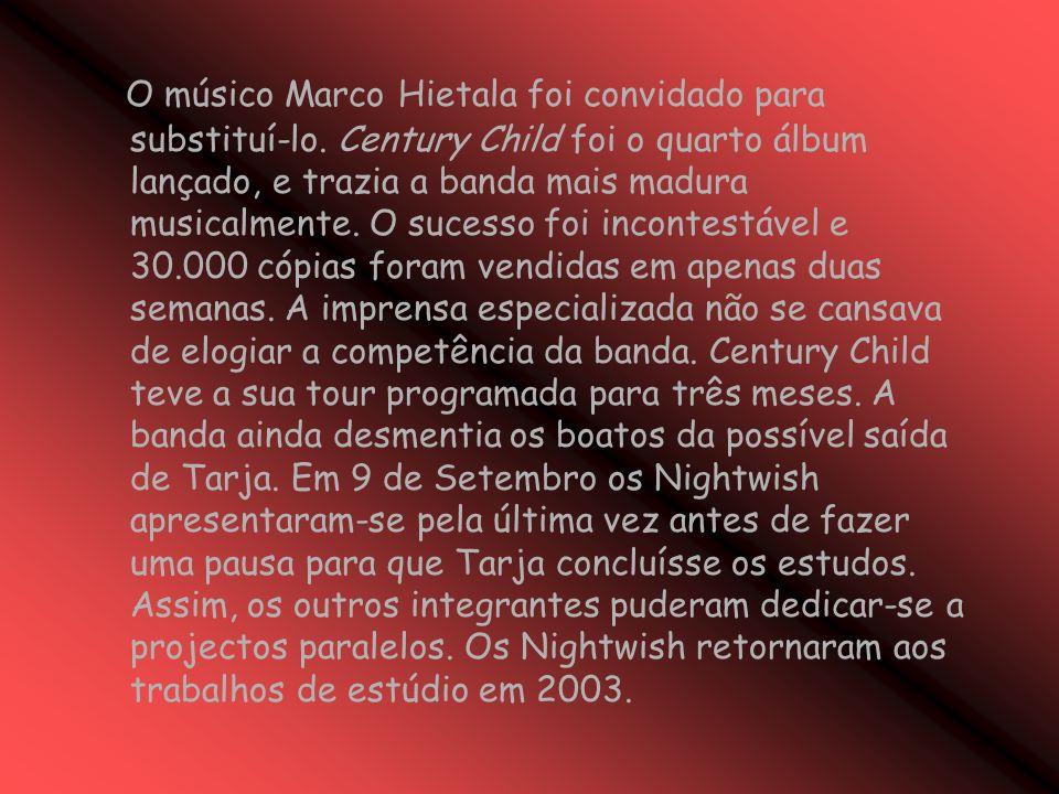 O músico Marco Hietala foi convidado para substituí-lo