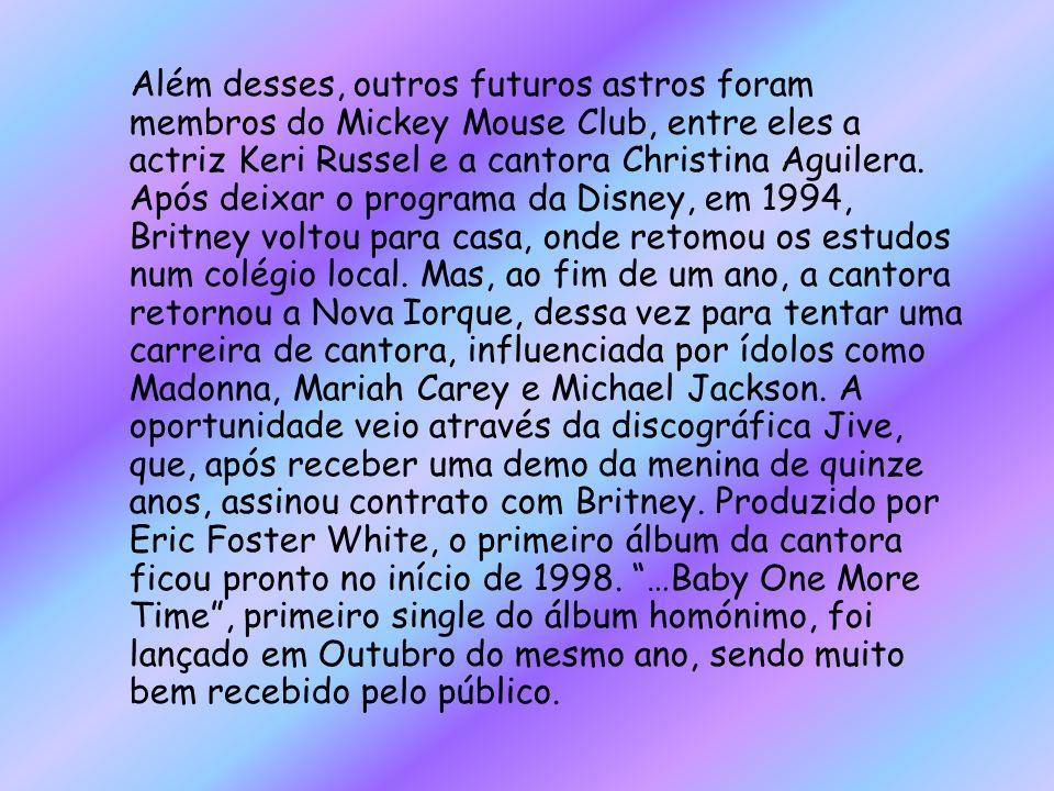 Além desses, outros futuros astros foram membros do Mickey Mouse Club, entre eles a actriz Keri Russel e a cantora Christina Aguilera.