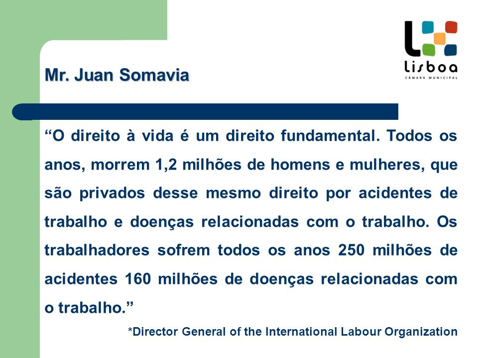 Mr. Juan Somavia