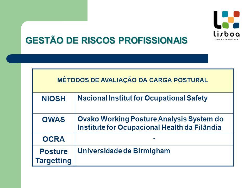 GESTÃO DE RISCOS PROFISSIONAIS