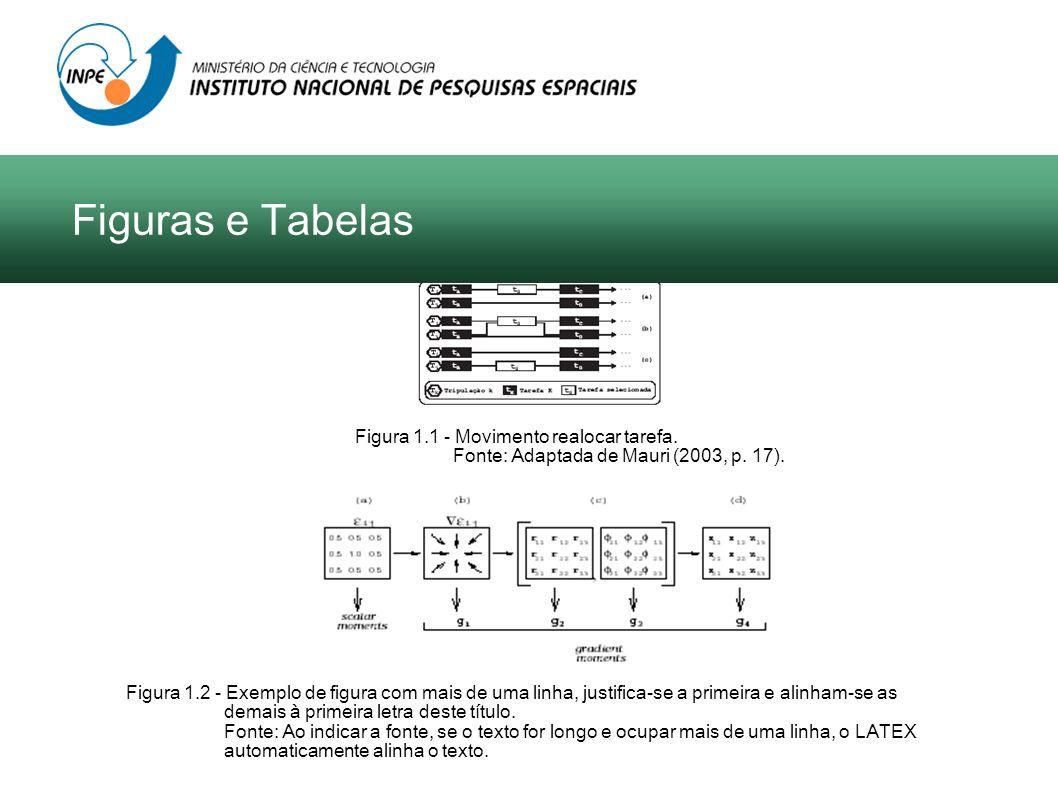Figuras e Tabelas Figura 1.1 - Movimento realocar tarefa.