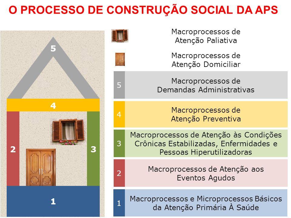 O PROCESSO DE CONSTRUÇÃO SOCIAL DA APS