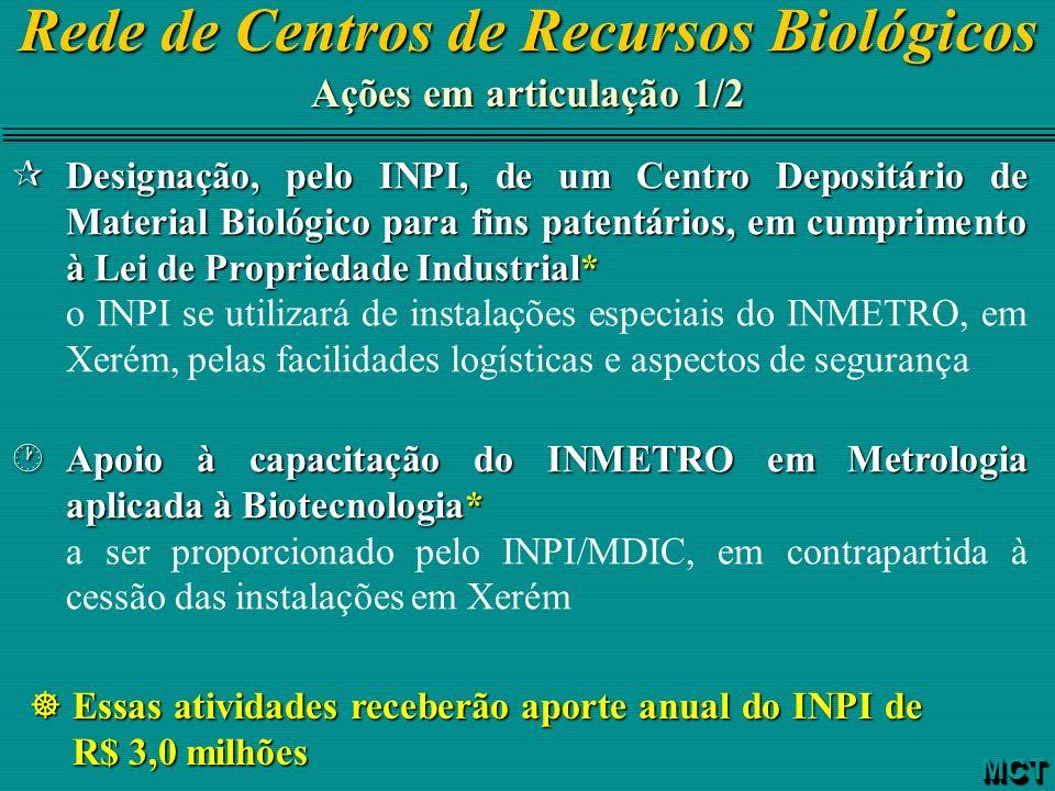 Rede de Centros de Recursos Biológicos