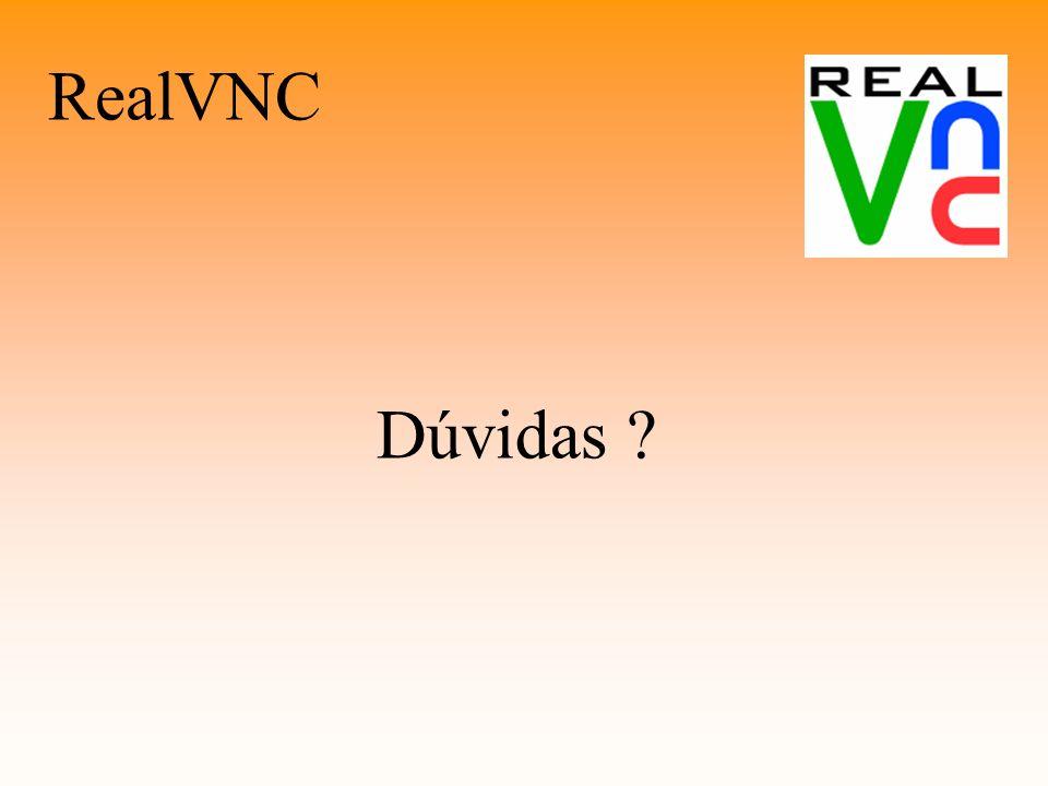 RealVNC Dúvidas