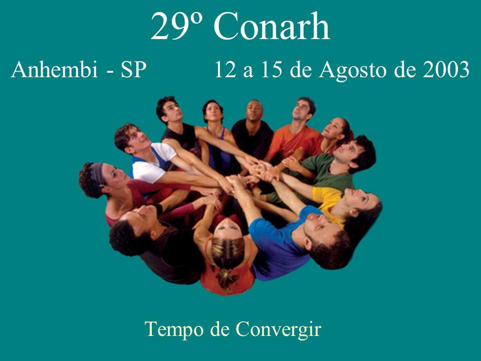 29º Conarh Anhembi - SP 12 a 15 de Agosto de 2003