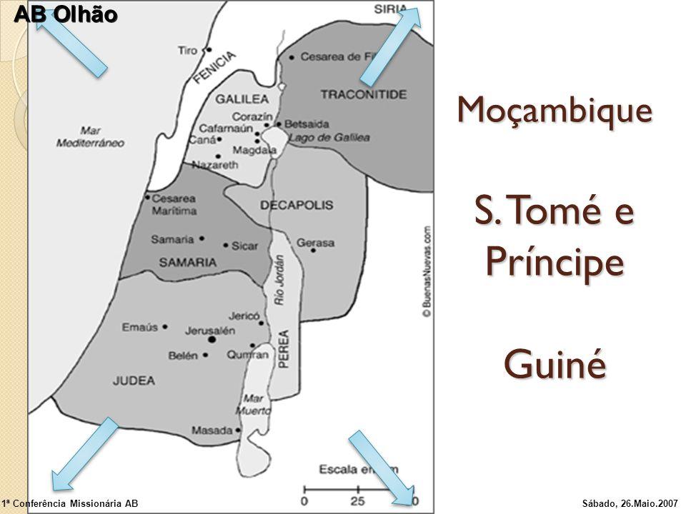 Moçambique S. Tomé e Príncipe Guiné