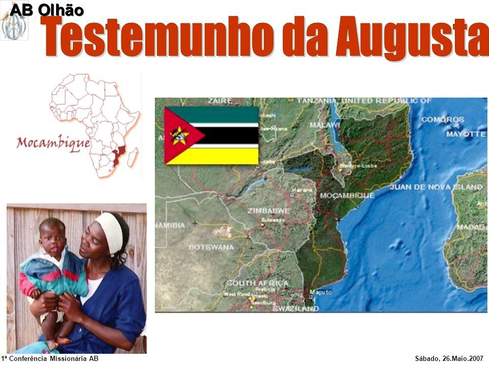 Testemunho da Augusta AB Olhão 1ª Conferência Missionária AB