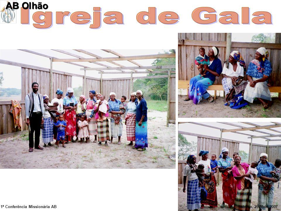 Igreja de Gala AB Olhão 1ª Conferência Missionária AB