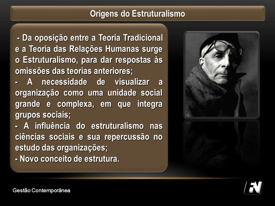 Origens do Estruturalismo