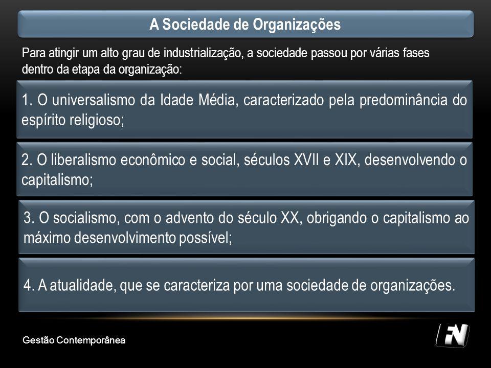 A Sociedade de Organizações