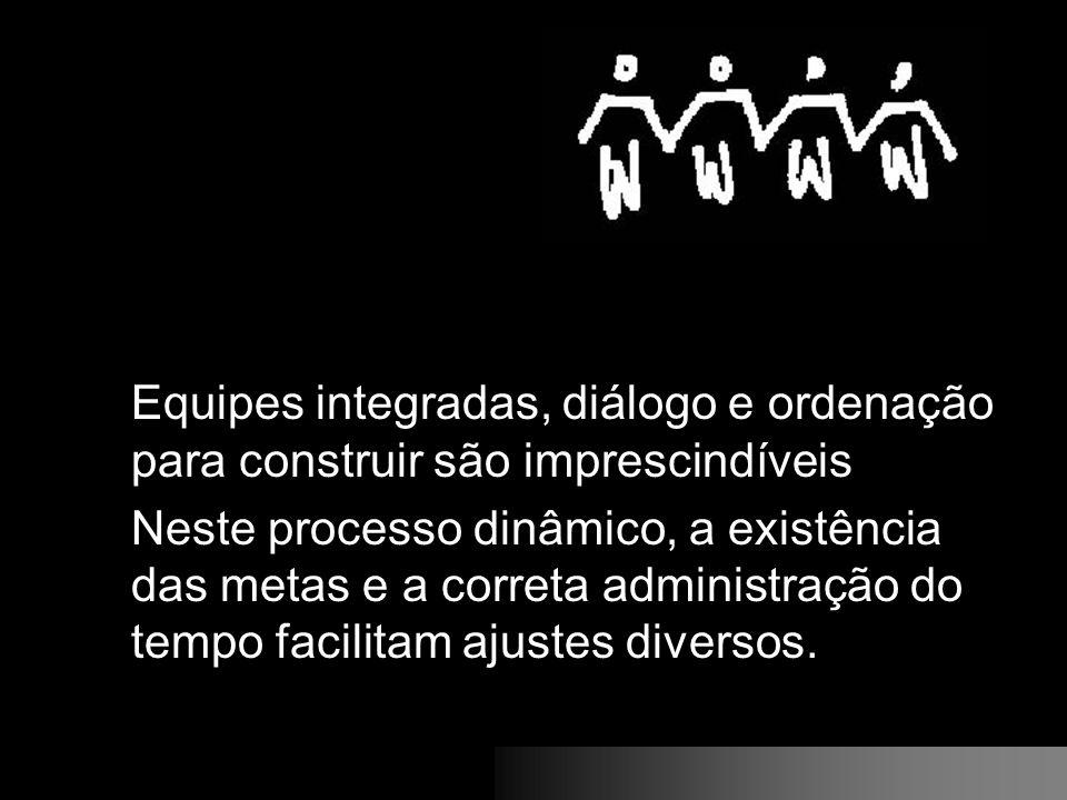 Equipes integradas, diálogo e ordenação para construir são imprescindíveis