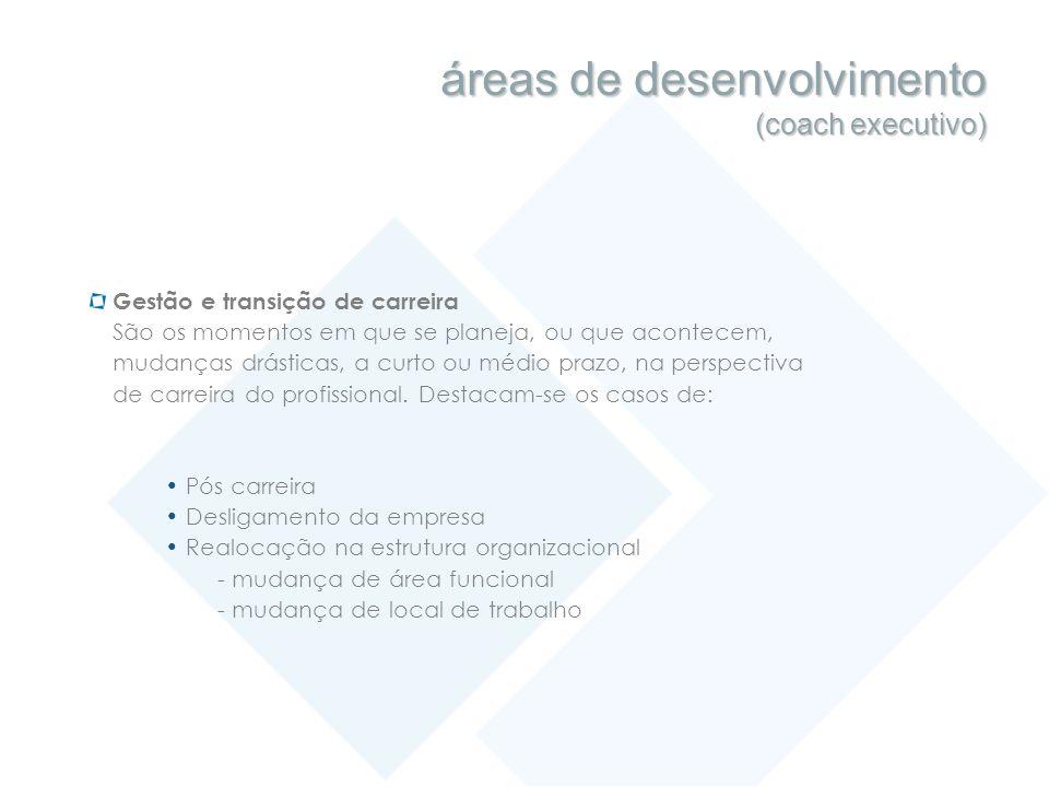 áreas de desenvolvimento