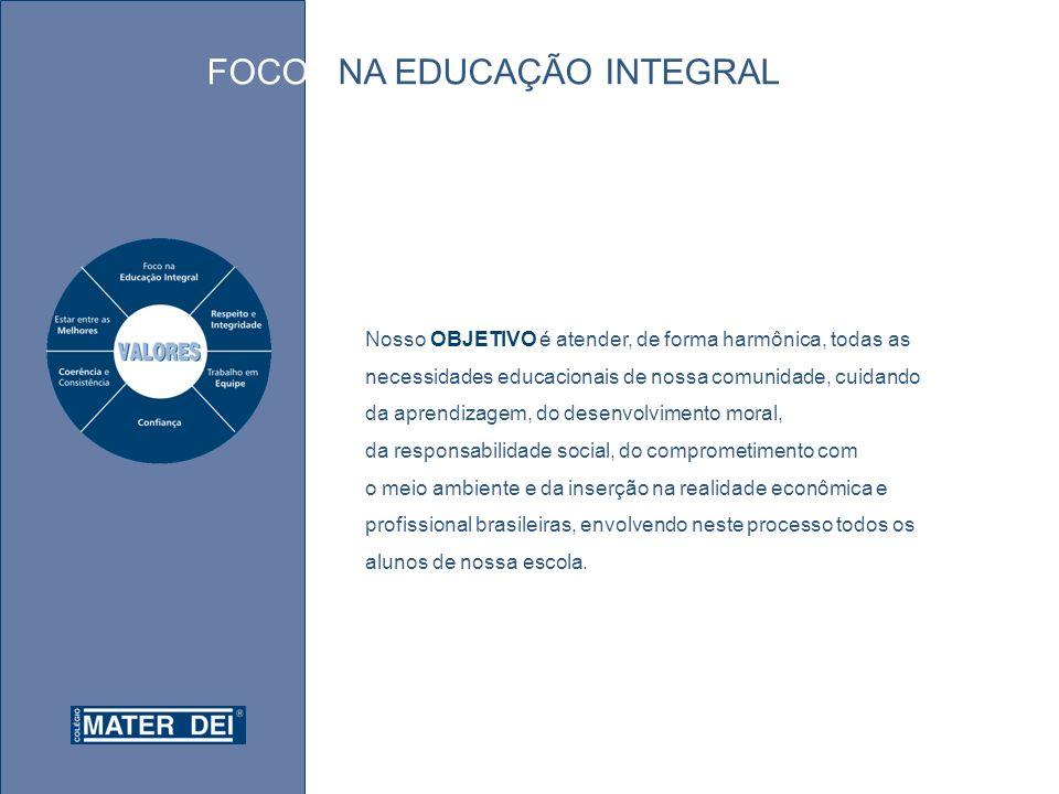 FOCO NA EDUCAÇÃO INTEGRAL