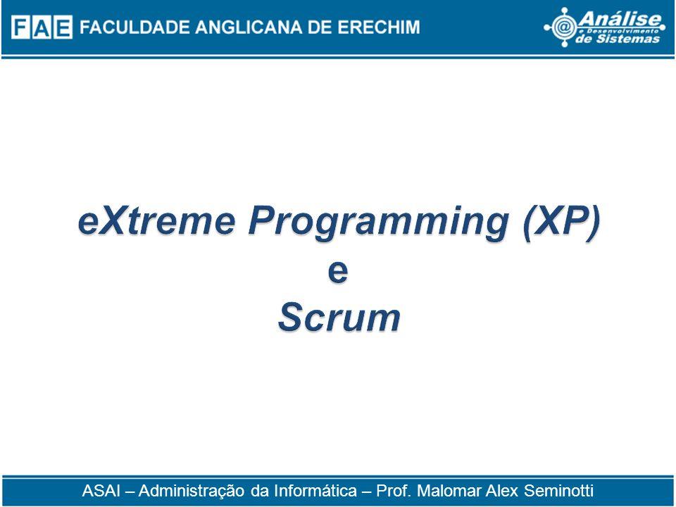 eXtreme Programming (XP) e Scrum