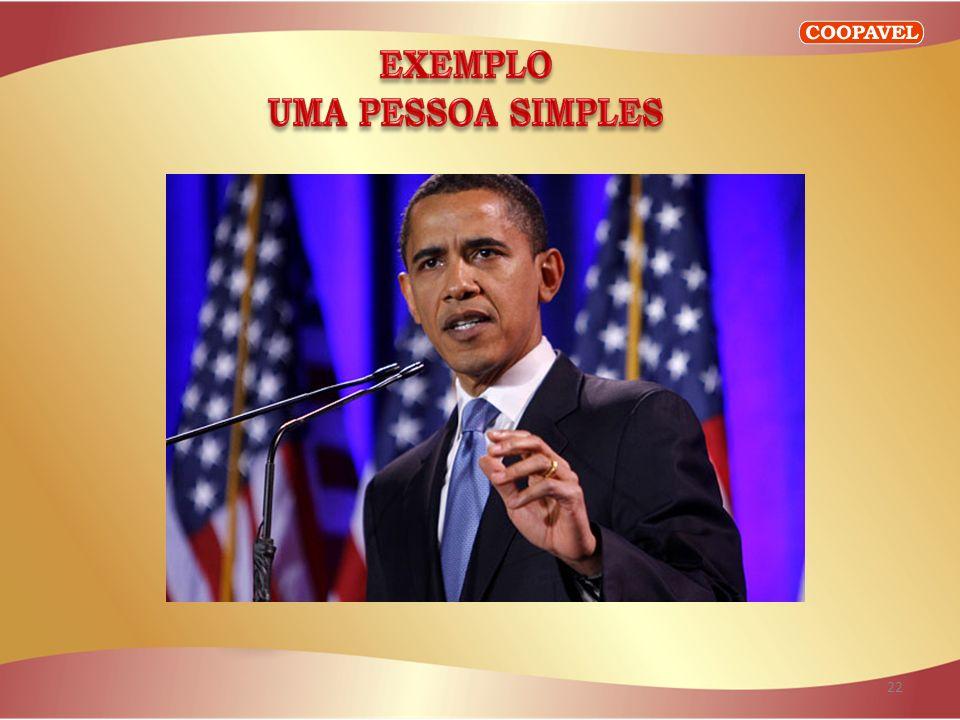 EXEMPLO UMA PESSOA SIMPLES