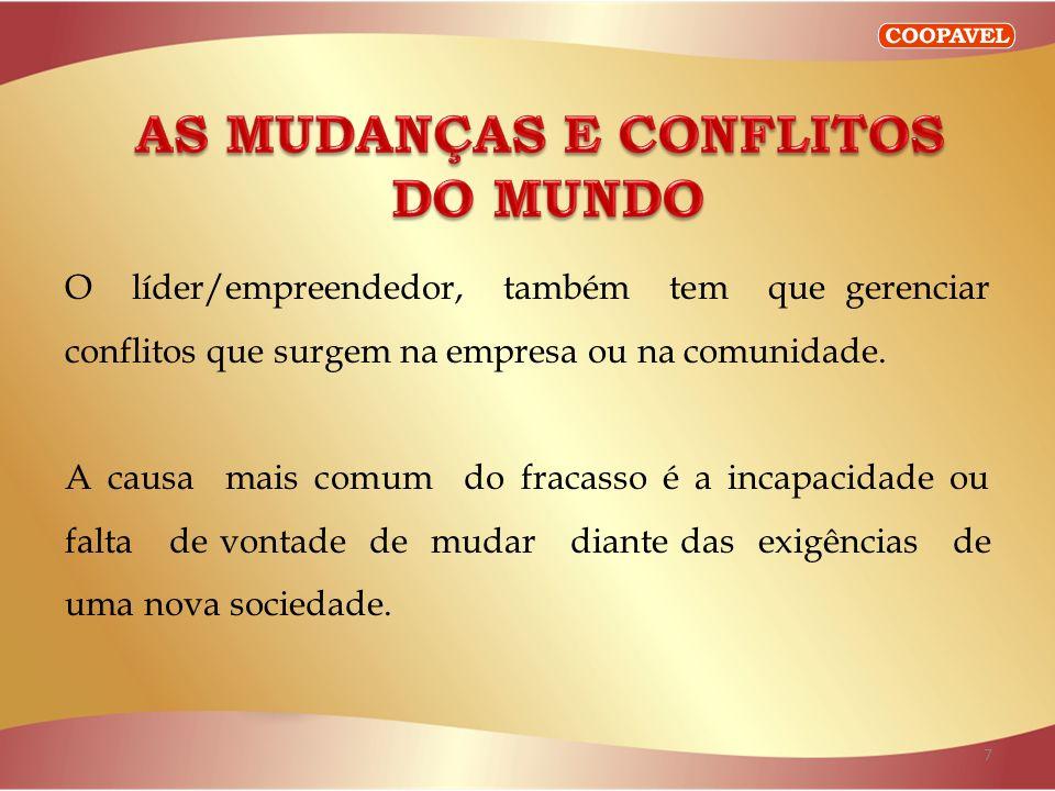AS MUDANÇAS E CONFLITOS
