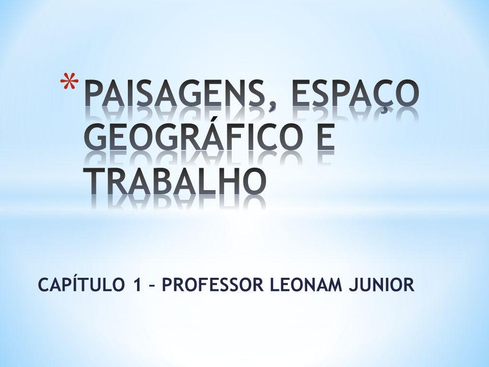 PAISAGENS, ESPAÇO GEOGRÁFICO E TRABALHO