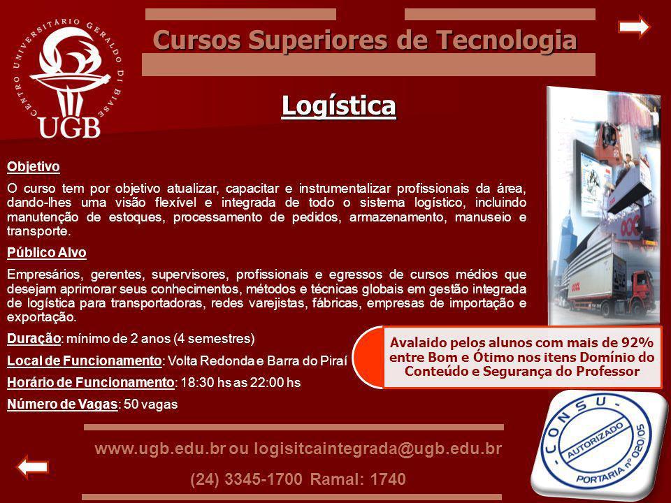 Cursos Superiores de Tecnologia