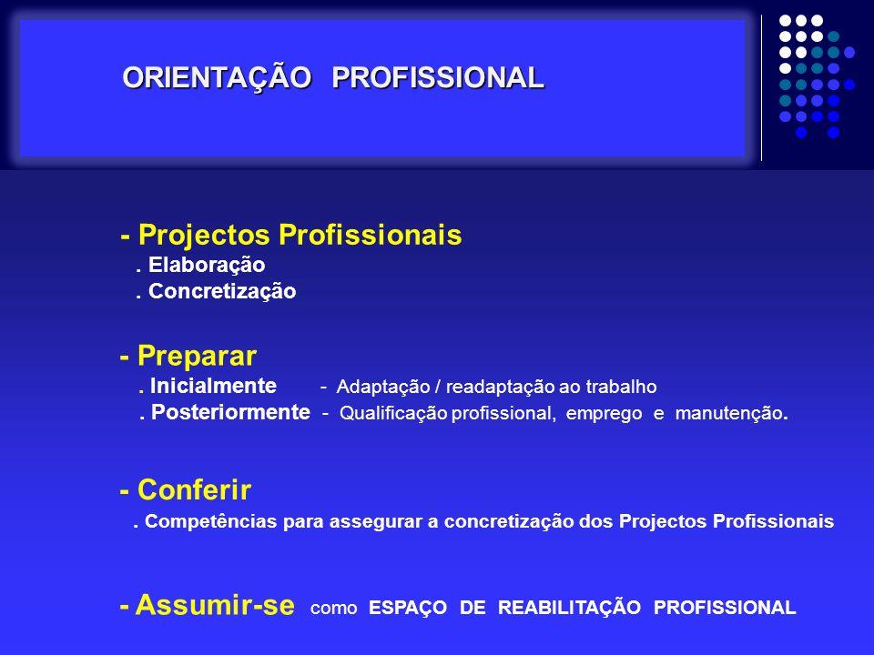 - Projectos Profissionais