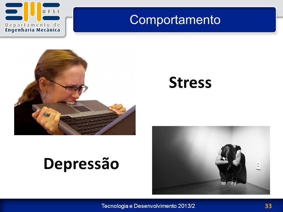 Comportamento Stress Depressão