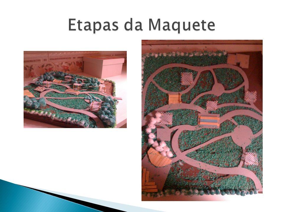 Etapas da Maquete
