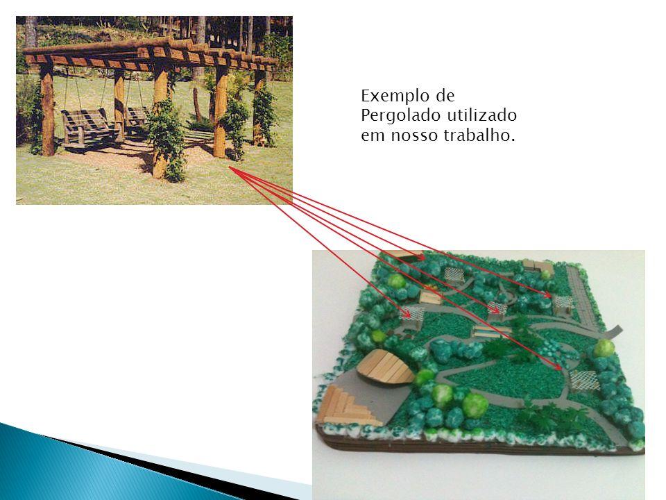 Exemplo de Pergolado utilizado em nosso trabalho.