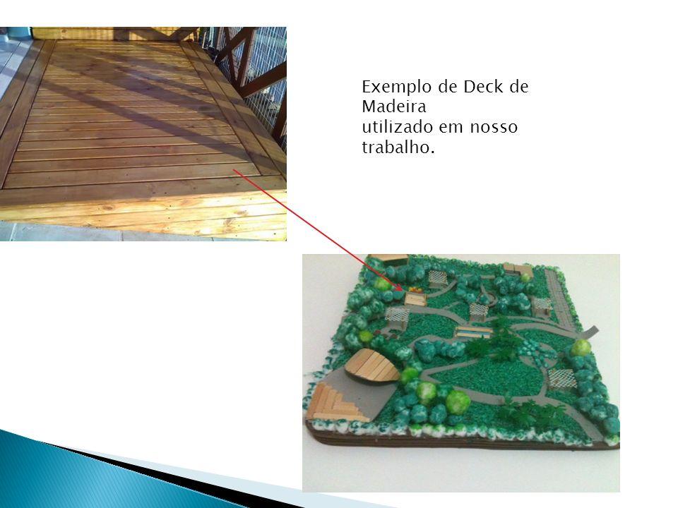 Exemplo de Deck de Madeira