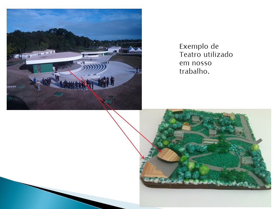 Exemplo de Teatro utilizado em nosso trabalho.