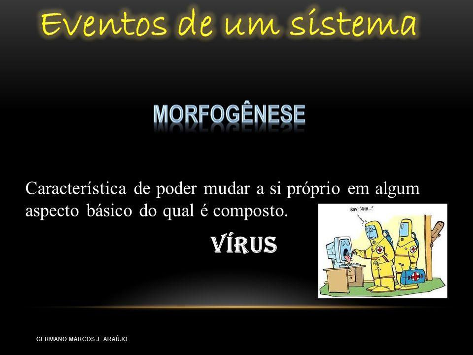 Eventos de um sistema Morfogênese Vírus