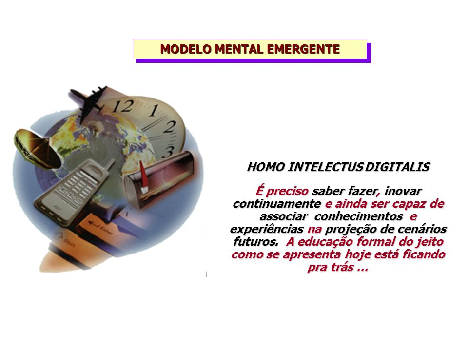 MODELO MENTAL EMERGENTE HOMO INTELECTUS DIGITALIS