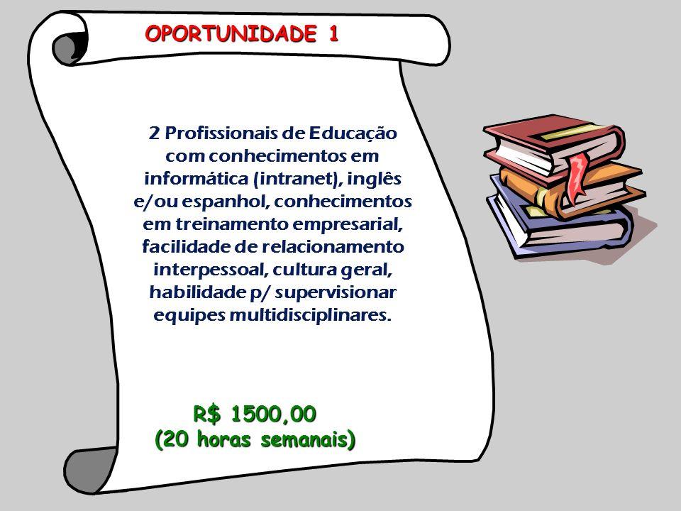 2 Profissionais de Educação