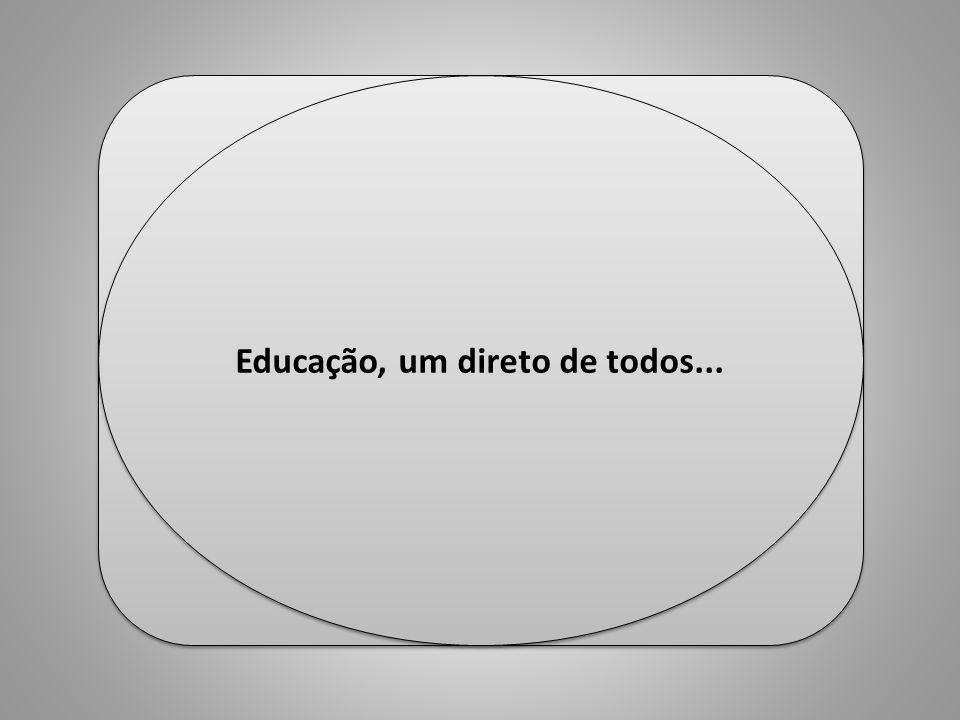 Educação, um direto de todos... Professor Ulisses Mauro Lima