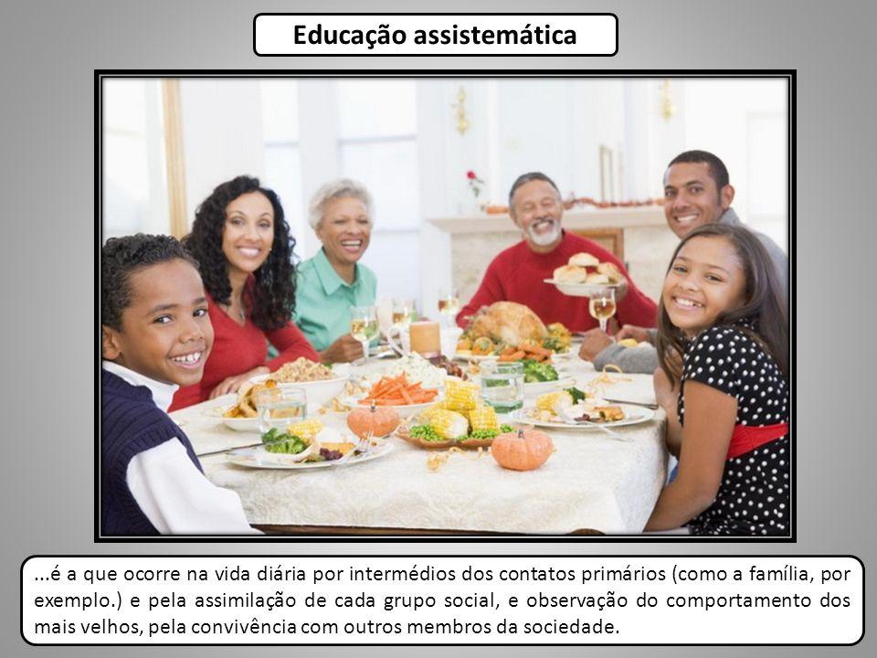 Educação assistemática