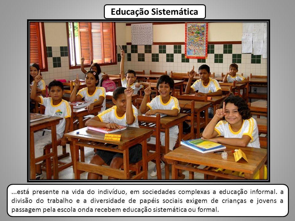 Educação Sistemática