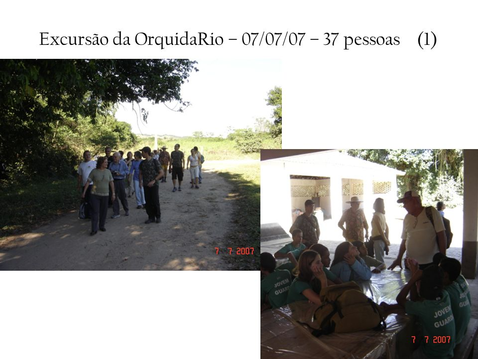 Excursão da OrquidaRio – 07/07/07 – 37 pessoas (1)